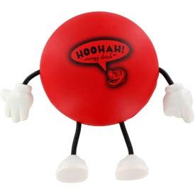 Monogrammed Round Figure Stress Ball
