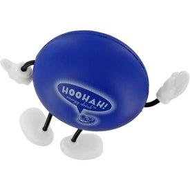 Personalized Round Figure Stress Ball