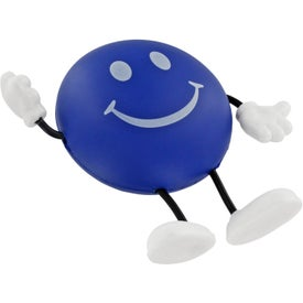 Round Figure Stress Ball for Customization