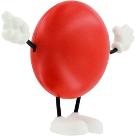 Company Round Figure Stress Ball