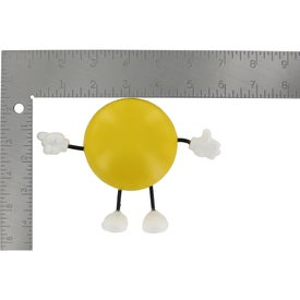 Advertising Round Figure Stress Ball