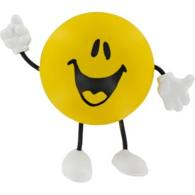 Round Figure Stress Ball for Your Company