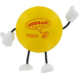 Round Figure Stress Ball Giveaways