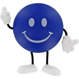 Round Figure Stress Ball for Your Organization