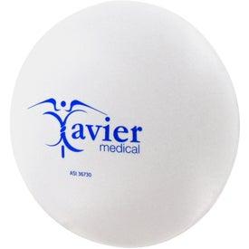 Personalized Round Pill Stress Ball