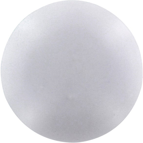White Round Pill Stress Ball