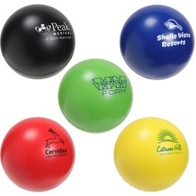 Round Slo-Release Serenity Stress Ball