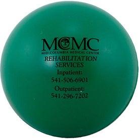 Branded Round Stress Balls
