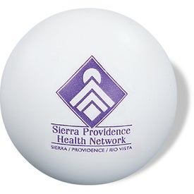 Round Stressball Branded with Your Logo