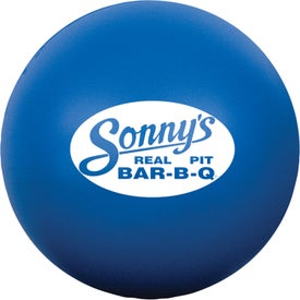 Branded Round Stress Ball