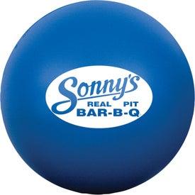Branded Round Stress Ball