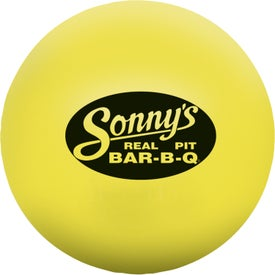 Round Stress Ball for Promotion