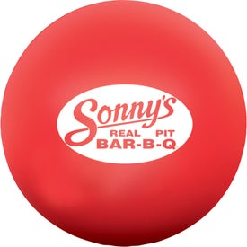 Round Stress Ball Branded with Your Logo