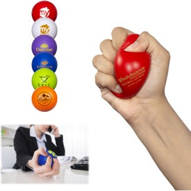 Round Super Squish Stress Relievers