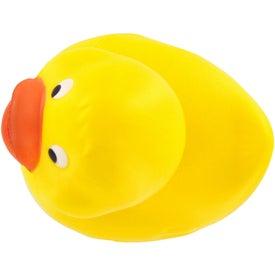 Custom Rubber Duck Stress Ball