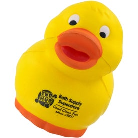 Personalized Rubber Duck Stress Ball