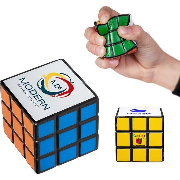 See Item Rubik's Cube Stress Reliever