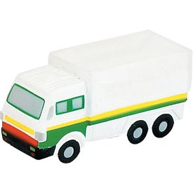 Branded Delivery Truck Stress Ball