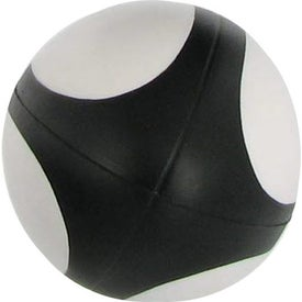 Branded Rugby Ball Stress Reliever