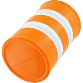 Advertising Safety Barrel Stress Toy