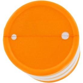 Monogrammed Safety Barrel Stress Ball
