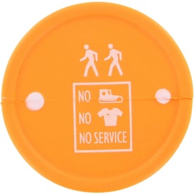 Safety Barrel Stress Ball for Marketing