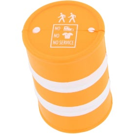 Safety Barrel Stress Ball for your School