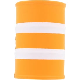 Safety Barrel Stress Ball for Promotion