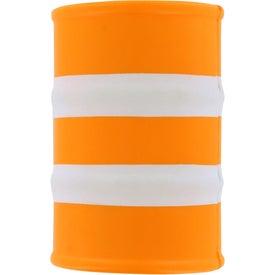 Promotional Safety Barrel Stress Ball