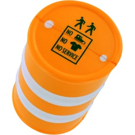 Safety Barrel Stress Ball