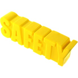 Safety Word Stress Ball Printed with Your Logo