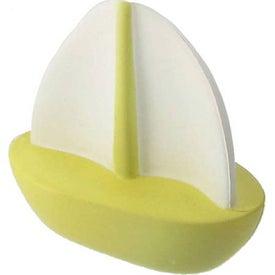 Monogrammed Sailboat Stress Ball