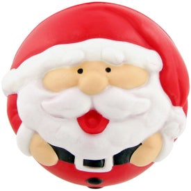 Santa Ball Stress Toy Giveaways
