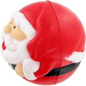 Customized Santa Ball Stress Toy