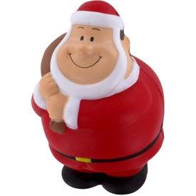 Santa Bert Stress Reliever for Advertising