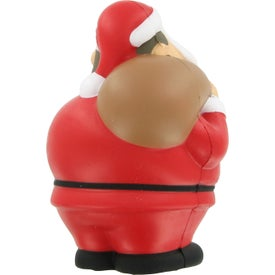 Santa Bert Stress Reliever with Your Logo