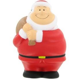 Custom Santa Bert Stress Reliever