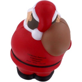 Santa Bert Stress Reliever for Promotion