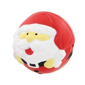 Santa Claus Stress Ball Printed with Your Logo