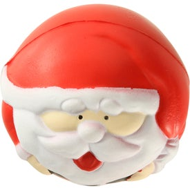 Santa Claus Stress Ball with Your Logo