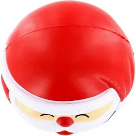Promotional Santa Claus Stress Ball