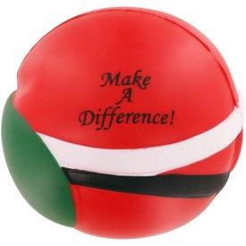 Santa Claus Stress Ball for Customization