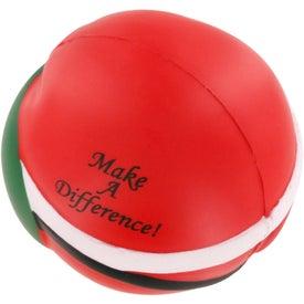 Santa Claus Stress Ball Giveaways