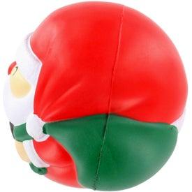 Customized Santa Claus Stress Ball