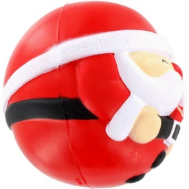 Monogrammed Santa Claus Stress Ball