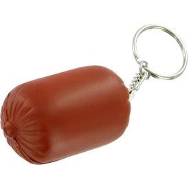 Company Sausage Keychain Stress Toy