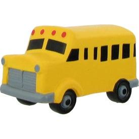 Logo School Bus Stress Reliever