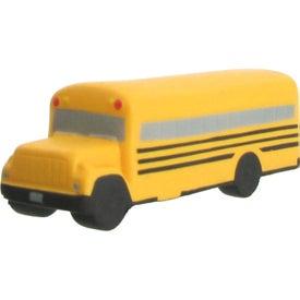 Promotional School Bus Stress Ball