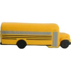 Monogrammed School Bus Stress Ball