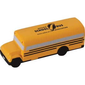 School Bus Stress Ball Giveaways